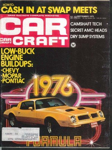 CAR CRAFT Chevy Mopar Pontiac Engine Buildups Camshaft Tech 9 1975
