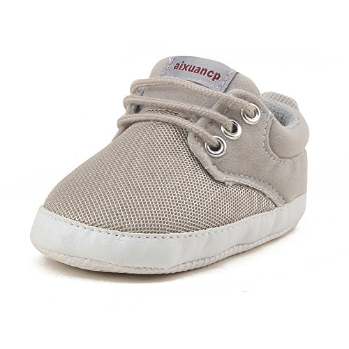 Pictures of OOSAKU Baby Breathable Mesh Sneakers Lace up 1