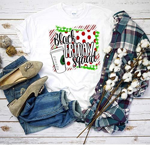 Black Friday Shopping T-Shirt - Black Friday Squad - SHIPS FREE