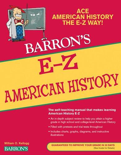 E-Z American History (Barron's E-Z Series)