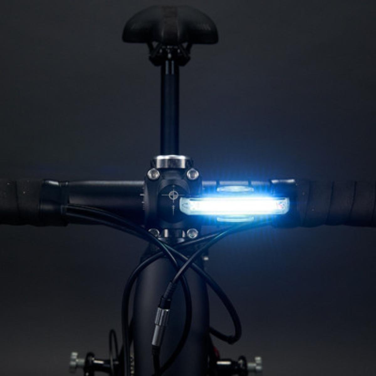 CAT EYE Rapid X USB Rechargeable LED Bike Safety Light Front 80 Lumens CatEye 5447007