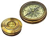 Best Brass Compasses - Vintage Compass Replica Nautical Compass Brass Pocket Transit Review