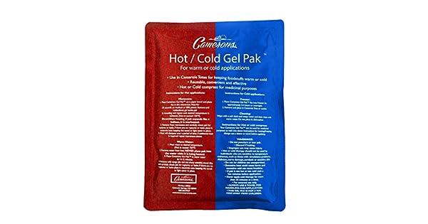 Amazon.com: Paquete de gel frío o caliente, tamaño XL (8 x ...