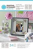 Martha Stewart Crafts Outline Glass Cling, 33264 Rose Bouquet