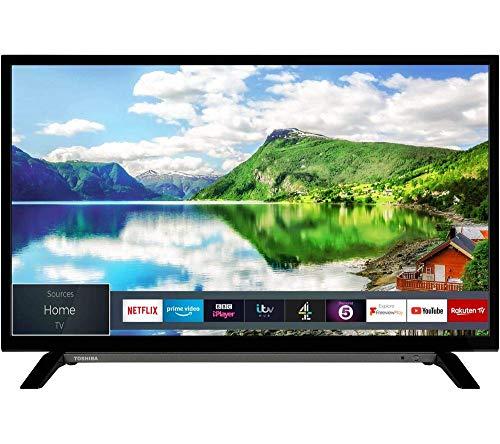 TOSHIBA 32WL2A63DB 32 inches Smart HD Ready LED TV (Renewed)