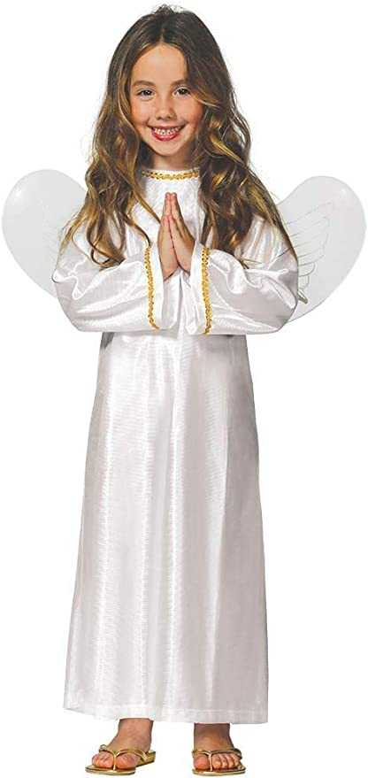 Fiestas Rudy Traje de ángel niña/Niño con alas Disfraces Navidad ...