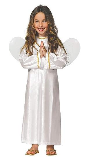 Fiestas Rudy Traje de ángel niña/Niño con alas Disfraces ...