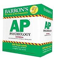Barron's AP Psychology Flash Cards, 3rd Edition