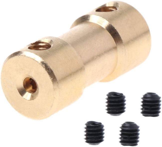 2-3mm Rtengtunn 2-5mm Motor Kupfer Wellenkupplung Kupplung Stecker H/ülse Adapter US