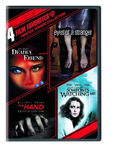 4 Film Favorites: Twisted Terror (Deadly Friend, Eyes of a Stranger, The Hand, Someone's Watching Me) by Warner Manufacturing