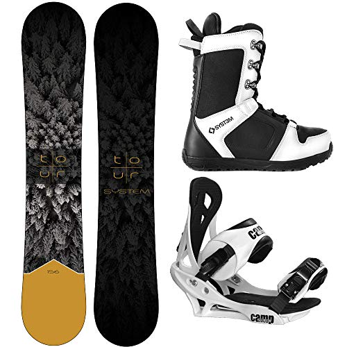 System 2021 Tour and Summit Complete Snowboard Package