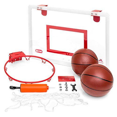 Choice Board (Best Choice Products Hangable Mini Basketball Board w/ Hoop, Ball Pump, Tools)