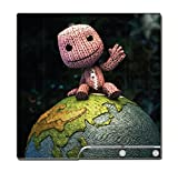 Little Big Planet 2 Sack Boy Video Game Vinyl Decal Skin Sticker Cover for Sony Playstation 3 PS3 Slim