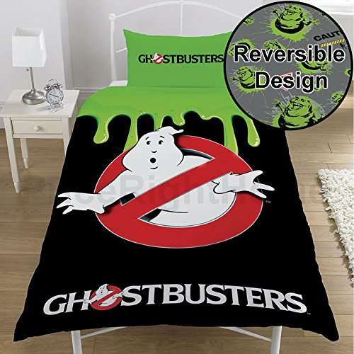 Ghostbusters Single/US Twin Duvet Cover and Pillowcase Set by Ghostbusters