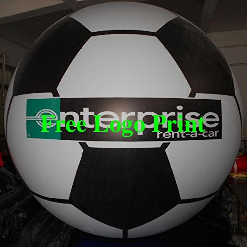 air-ads 11 ft 3.3 M gigante hinchable de fútbol enorme globo ...