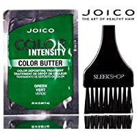Joico Color Intensity Color Butter - Color Depositing Treatment (with Sleek Tint Brush) (Green - 20ml sachet)