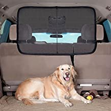 Raza Vehicle Car Back Seat Pet Isolation Net Safety Travel Protection Fence Anti-collision Dog Pet Barrier Mesh Device
