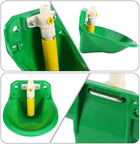 Yosoo Automatic Waterer, Professional Automatic Water Bowl for Sheep, Goats, Piglets, Small Horses Farm Livestock Supplies