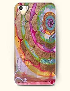 SevenArc Apple iPhone 4 4S Case Moroccan Pattern ( Rainbow Pastel Watercolor Floral Doodle )