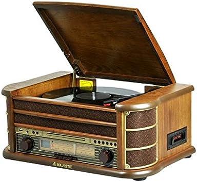 New Majestic TT-34 Marrón sistema de audio para el hogar ...