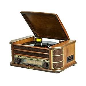 New Majestic TT-34 Marrón sistema de audio para el hogar: Amazon ...