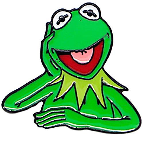 New Horizons Production Kermit The Frog Classic Figure Metal Enamel Pin