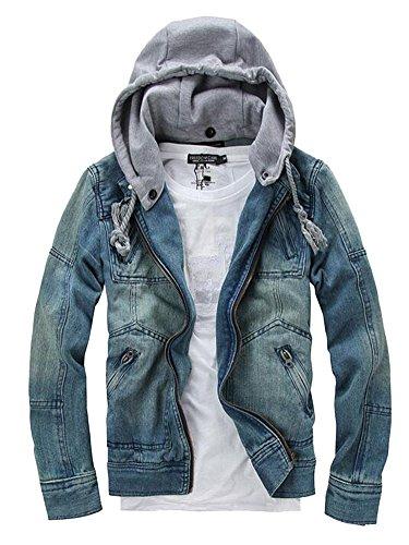 Zip Front Collared Sweatshirt Jacket - 9