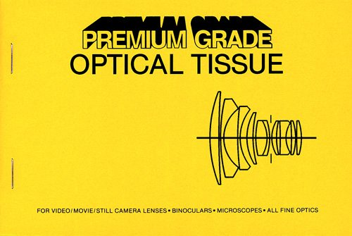 Peca Products LCT-PG Lens Cleaning Tissues and Lens Paper by Premium Grade Optical Tissue (Image #1)