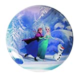 Luminarc Disney Frozen 8011576??Dessert Plates Glass Blue 20.2??x 20.2??x 1,8??cm by Luminarc