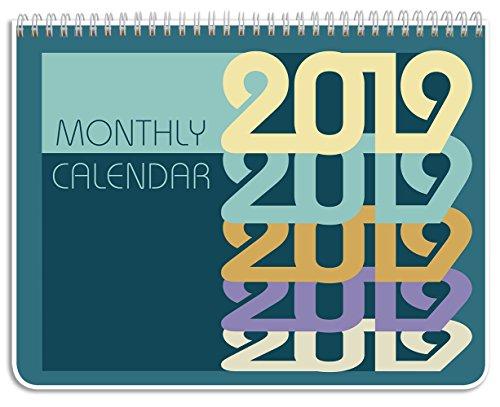 (BookFactory 2019 Monthly Wall Calendar (11