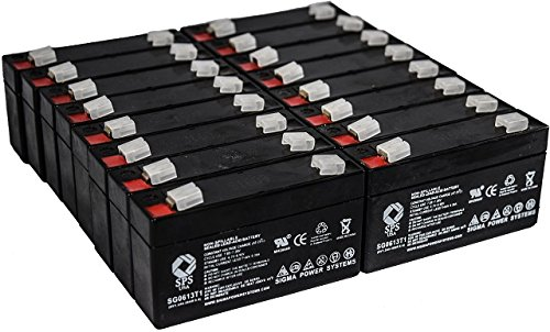 (SPS Brand 6V 1.3Ah Replacement Battery for Quantum BANTAM (16 PACK))