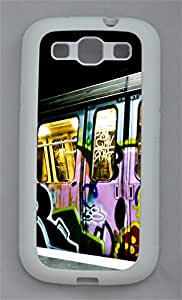 Samsung Note S3 CaseBucharest Subway Graffiti TPU Custom Samsung Note 2 Case Cover White