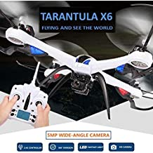 Toy, Play, Fun, Rc Drones With Camera Hd Wide-angle 5mp Camera Jjrc H16 Tarantula X6 Professional Drones Rc Quadcopter Flying Camera HelicopterChildren, Kids, Game