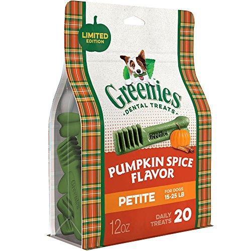 GREENIES Pumpkin Spice Dog Dental Chew (Petite)