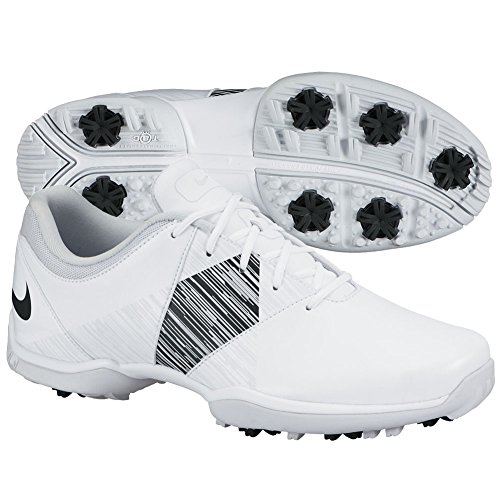 NIKE NEW Womens Delight V Lady Golf Shoes 651997 White/Black Size 9.5 M