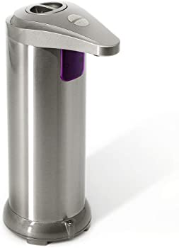 Elechok Infrared Motion Sensor Stainless Steel Soap Dispenser
