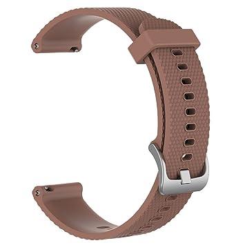 Prevently Electronics para Xiaomi Amazfit Bip Watch, Correa de Repuesto para Reloj Deportivo de Silicona