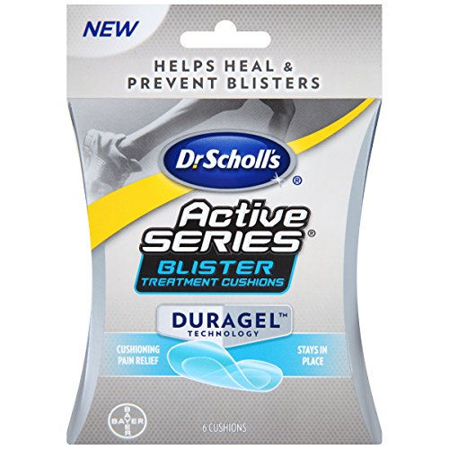 Dr. Scholl's Blister Cushion with Duragel Technology, 6ct // Sweat-Resistant and Helps Heal and Prevent Blisters
