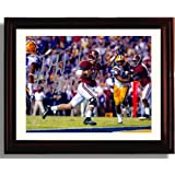 McCarron LSU Touchdown Autograph Replica Print Framed Alabama Crimson Tide 2013 Champions A.J