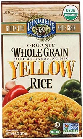 Rice: Lundberg Yellow Rice Mix