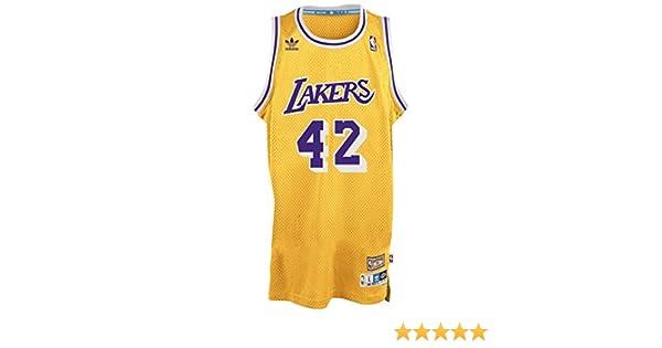 1e12ee37e ... Amazon.com James Worthy Los Angeles Lakers Adidas NBA Throwback  Swingman Jersey - Gold Sports ...