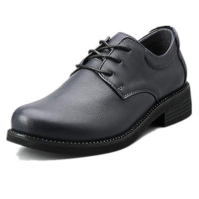 Traje de Cordones, Zapatos de Cuero de Negocios Oxford para ...