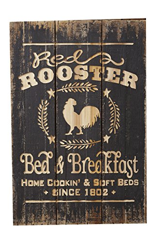 Rooster Wall Plaque - Your Heart's Delight Your 20