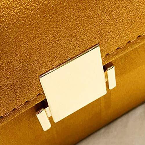 Cross Semplice Bag Selvaggia C Borsa Spalla Donna Lcm Sacchetto Morbido Serratura Colore Contrasto Tracolla Diagonale Pane Catena Di a xU7PxXq