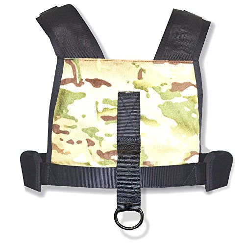 CCS Camo Sled Harness with Pull Strap