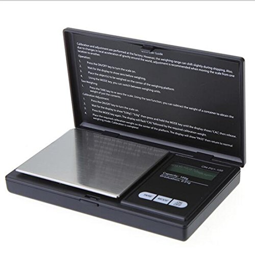 200g/0.01g Mini Digital Pocket Precision Scale Jewelry Scale Electronic LCD Scale Clamshell
