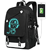School Bags, Boys Girls Unisex 20L Fashion Oxford Laptop Bag School Backpack