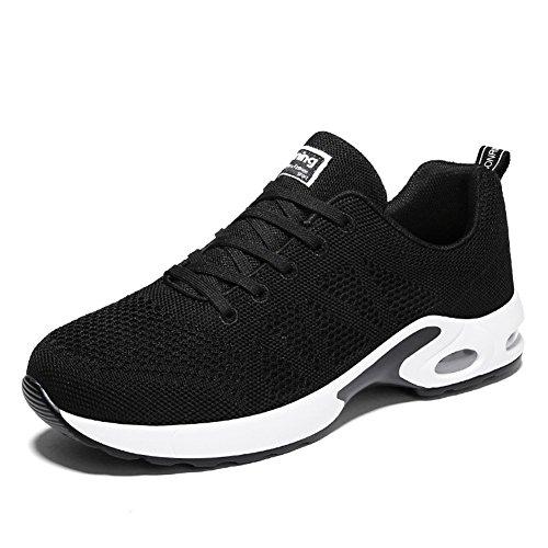 de 2 Gym Sport Homme Chaussure Fitness Baskets Femme EU Sports Running Sneakers Noir 43 de Course 34 Air Baskets qxwwCUvIY