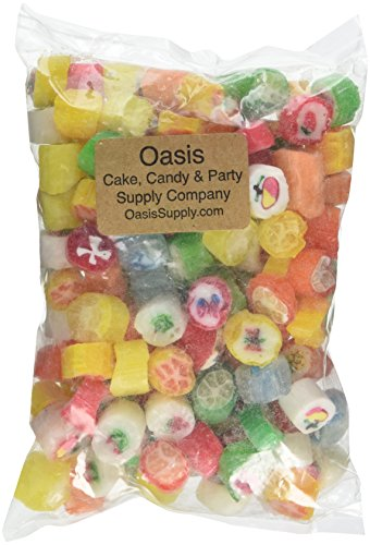 Primrose Cut Rock Candy, 16 Ounce (Old Fashion Hard Candy)