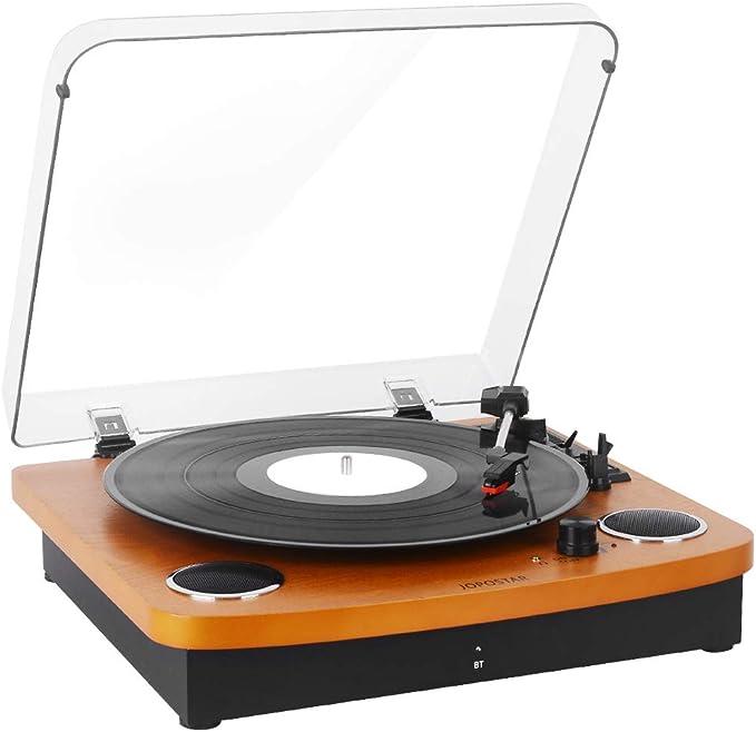 Amazon.com: Jugador de grabación de vinilo vintage con ...